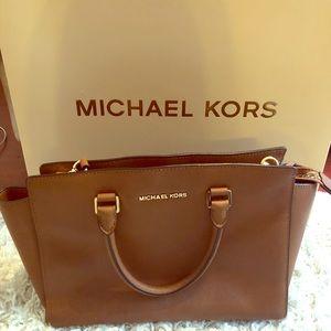Michael Kors Cognac Handbag